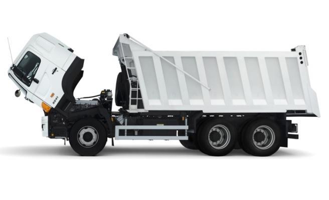 техобслуживание грузовиков в специализированном сервисе