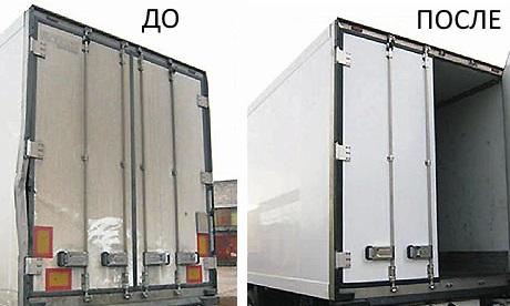 ремонт фургонов